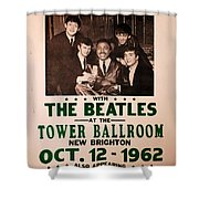 The Beatles And Little Richard Poster Collection 6 Shower Curtain