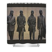 The Beatles N F Shower Curtain