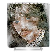 The Beatles Ringo Starr Shower Curtain
