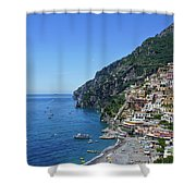 The Beautiful And Famous Amalfi Coast Shower Curtain