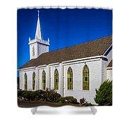 The Beautiful Bodega Church St. Teresas Of Avila  Shower Curtain