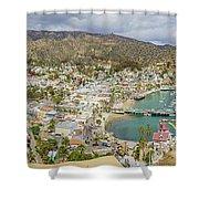 The Beautiful Catalina Island Shower Curtain