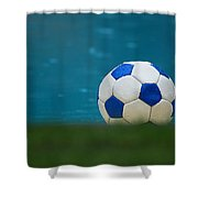 The Beautiful Game Shower Curtain