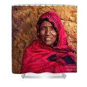 The Beautiful Granny Shower Curtain