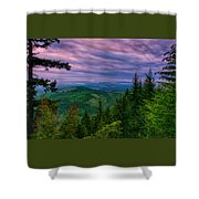 The Beautiful Olympic Mountains At Dawn - Olympic National Park, Washington Shower Curtain