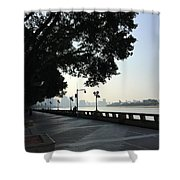 The Beautiful Pearl River Shower Curtain