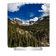 The Beautiful San Juan Mountains Shower Curtain
