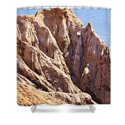 The Beauty In Erosion Shower Curtain