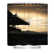 The Beauty Of Baseball In Colorado Shower Curtain