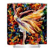The Beauty Of Dance Shower Curtain
