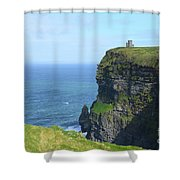 The Beauty Of Ire'land's Cliff's Of Moher In County Clare Shower Curtain