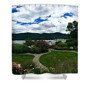 The Beauty Of Lake George Shower Curtain