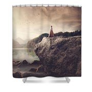 The Beauty Of Life Shower Curtain