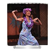 The Beauty Of Polynesia Shower Curtain