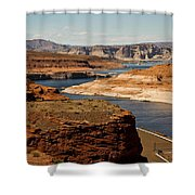 The Beauty Of Powell  Shower Curtain