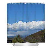 The Beauty Of Rain Clouds Shower Curtain