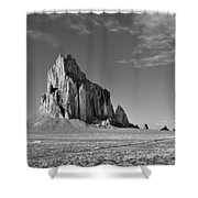 The Beauty Of Shiprock Shower Curtain