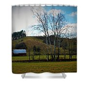 The Beauty Of The Country Shower Curtain