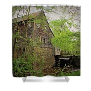 The Beauty Of The West Point On The Eno Grist Mill - Durham, N.c. Shower Curtain