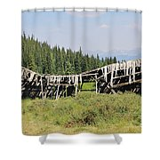 The Beauty Of Tincup Shower Curtain