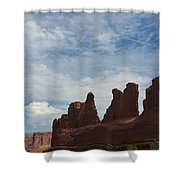 The Beauty Of Utah Arches Shower Curtain