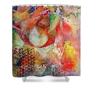 The Beginning Of Time Shower Curtain