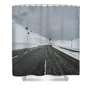 The Belagua Valley Shower Curtain