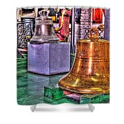 The Bell Tolls Shower Curtain