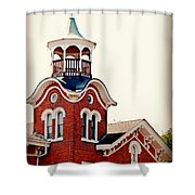 The Belvedere Shower Curtain