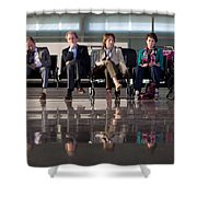 The Best Exotic Marigold Hotel Shower Curtain