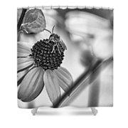 The Best Gardener - Bw Shower Curtain