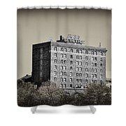 The Bethlehem Hotel Shower Curtain