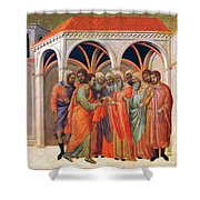 The Betrayal Of Judas 1311 Shower Curtain