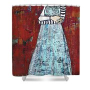 The Better To Hold You With Shower Curtain by Jane Spakowsky