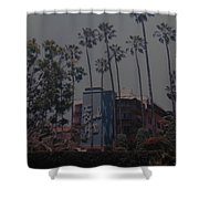 The Beverly Hills Hotel Shower Curtain
