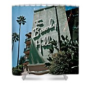 The Beverly Hills Shower Curtain