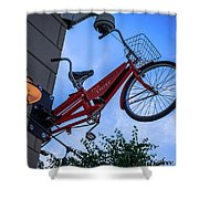 The Bicycle Thief - Halifax Shower Curtain