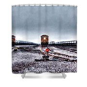 The Big 3 Shower Curtain