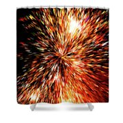 The Big Bang Shower Curtain