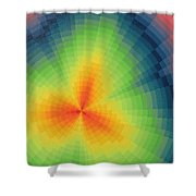 The Big Bang Shower Curtain
