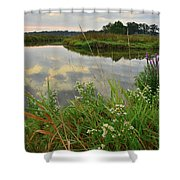 The Big Bend Of The Nippersink Shower Curtain