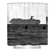 The Big Catch Shower Curtain
