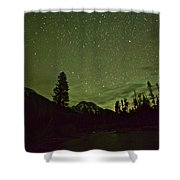 The Big Dipper Over Mount Moran Shower Curtain