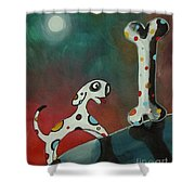 The Big Find Shower Curtain