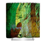 The Big Manitou Shower Curtain