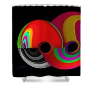 The Big Red One Shower Curtain