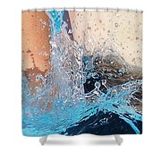 The Big Splash Shower Curtain