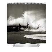 The Big Surge Shower Curtain