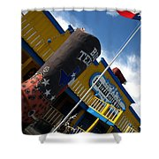 The Big Texan II Shower Curtain