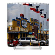 The Big Texan In Amarillo Shower Curtain